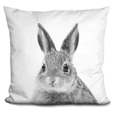 Kelm Rabbit Throw Pillow