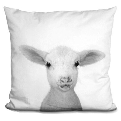 Jamieson Lamb Throw Pillow