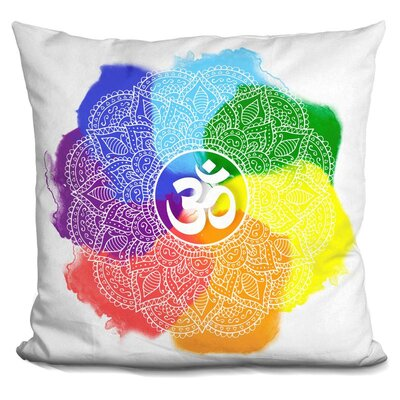 Mandala Chakra Throw Pillow