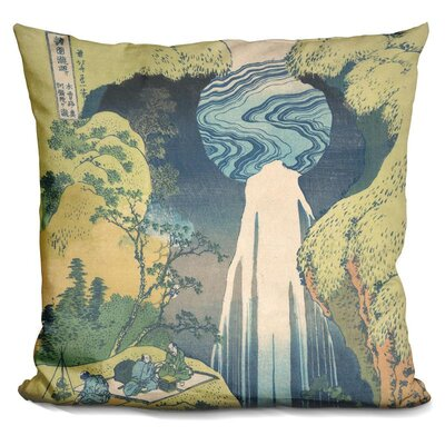 The Amida Falls Throw Pillow
