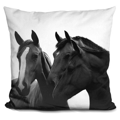 Holford Horse Throw Pillow