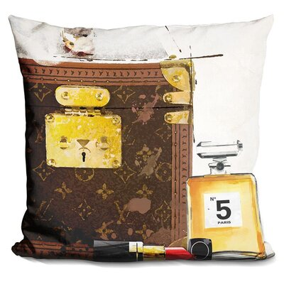 Johnsie Lets Go Hers Throw Pillow