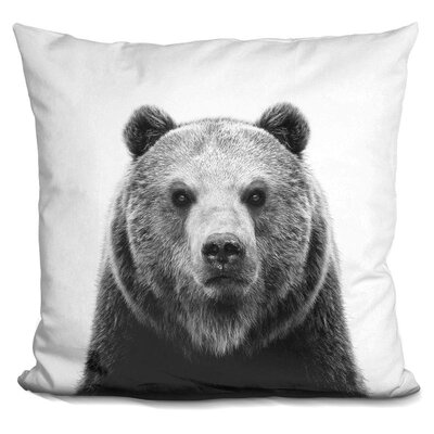 Hofer Bear Throw Pillow
