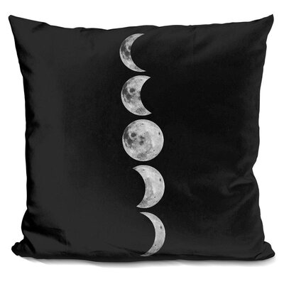Kepley Moons Throw Pillow