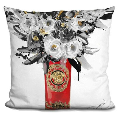 Elina Vase Throw Pillow
