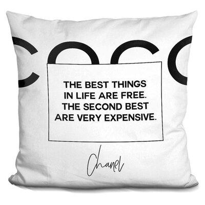 Burnett Cc Throw Pillow