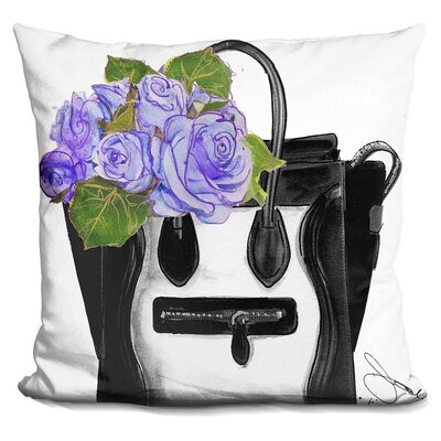 Fidela Bring Me Flowers Throw Pillow