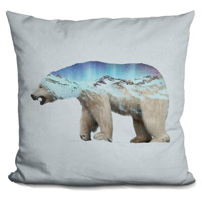 Okelly Polar Bear Throw Pillow