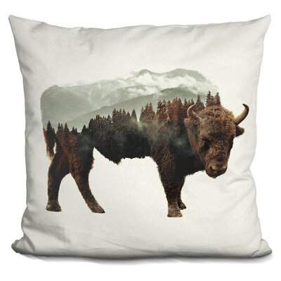 Oliveras Buffalo Throw Pillow