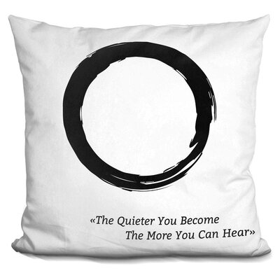 Gintautas Zen Throw Pillow