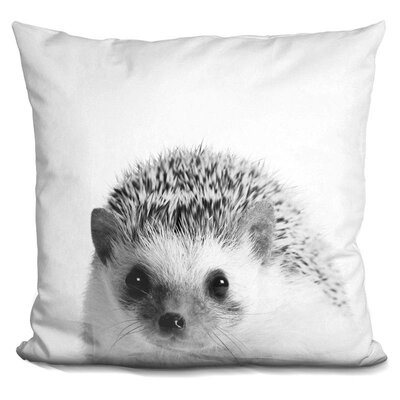 Holeman Hedgehog Throw Pillow