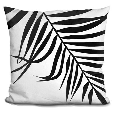 Mason Leaf Palm Throw Pillow