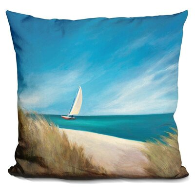 Buser Sunday Sail Throw Pillow