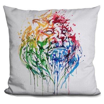 Kemmer a Portrait of Hong Kong Throw Pillow