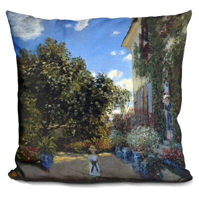The ArtistS House at Argenteui Throw Pillow