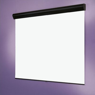 Matte White Silhouette/Series M Manual Projection Screen Viewing Area: 70 H x 70 W