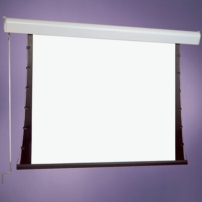 M1300 Silhouette/Series C White Manual Projection Screen Viewing Area: 92 Diagonal