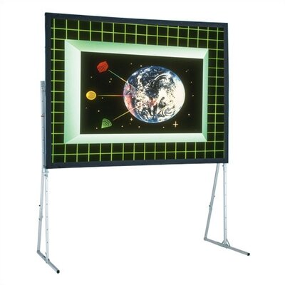 Flexible Matte White 112 H x 196 W Portable Projection Screen