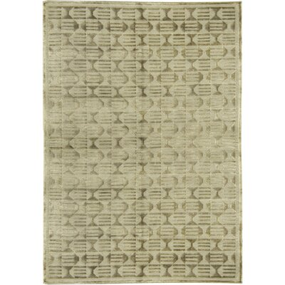 Himalayan Wool Light Green Area Rug