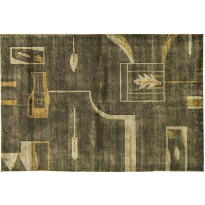 Himalayan Wool Taupe/Camel Area Rug