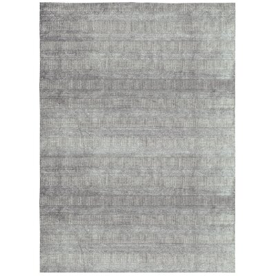 One-of-a-Kind Handloomed 1000 Black/Ivory Area Rug