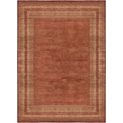 Lori Wool Rust/Red Area Rug