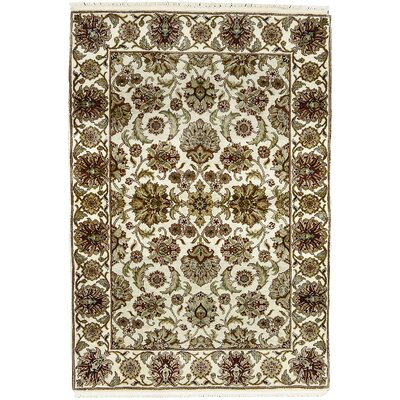 Mountain King Wool Beige/Ivory Area Rug