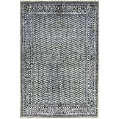 One-of-a-Kind Lori Hand-Woven Wool Silver/Gray Area Rug
