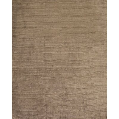 Silk Gabeh Silk Gabeh Silk Brown Area Rug