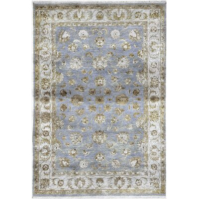 Dharma Wool Light Blue/Ivory Area Rug