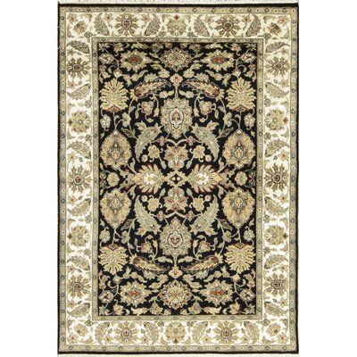 Avalon Wool Black/Ivory Area Rug