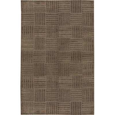 Himalayan Wool Brown Area Rug