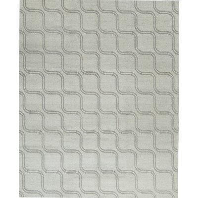Himalayan Wool Gray Area Rug