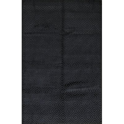Himalayan Wool Black Area Rug