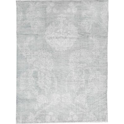 Brookhaven Wool Light Blue Area Rug