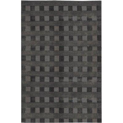 Himalayan Wool Black Area Rug