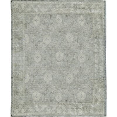 Moroccan Taza Wool Gray Area Rug
