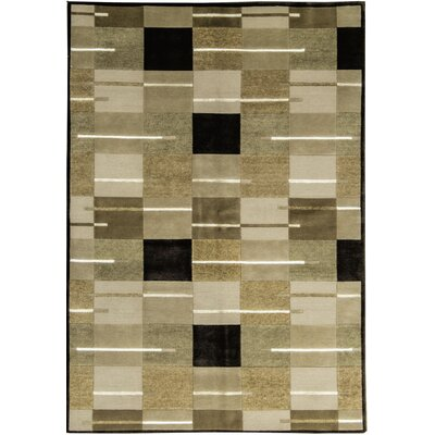 One-of-a-Kind Himalayan Hand-Woven Beige/Brown Area Rug