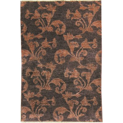 One-of-a-Kind Zarbof Quality Wool Rustic Vine Area Rug