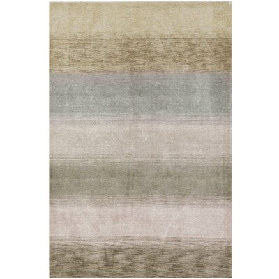 Gabbeh Hand Woven Wool Gray/Tan Area Rug