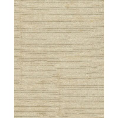 Artificial Gabeh Hand Woven Silk Ivory Area Rug