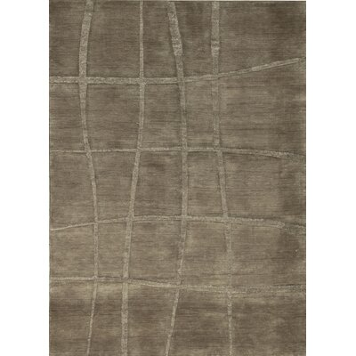 Indian Wool Black Area Rug