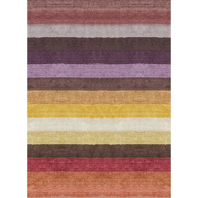 Indian Wool Yellow/Brown Area Rug
