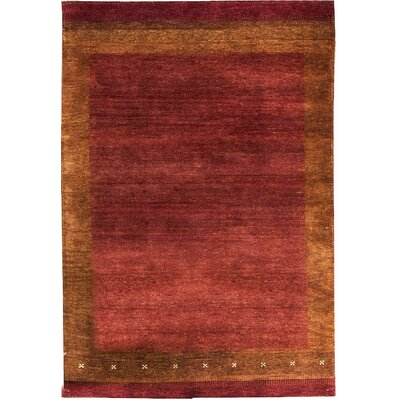One-of-a-Kind Kaschkuli Gabeh Hand Woven Wool Red Area Rug