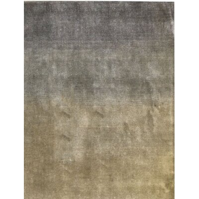 Gabbeh Hand Woven Wool Gray/Tan Area Rug