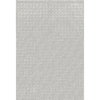 Indian Wool Gray Area Rug Size: Rectangle 4'8