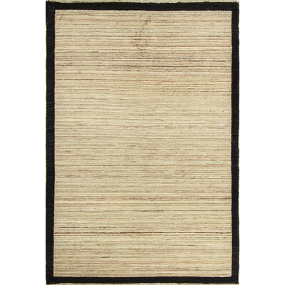 Afghan Multi Wool Beige Area Rug