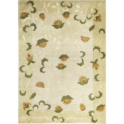 Indian Wool Ivory/Cream Area Rug
