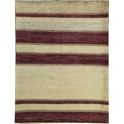 Ziegler Wool Cream/Red Area Rug