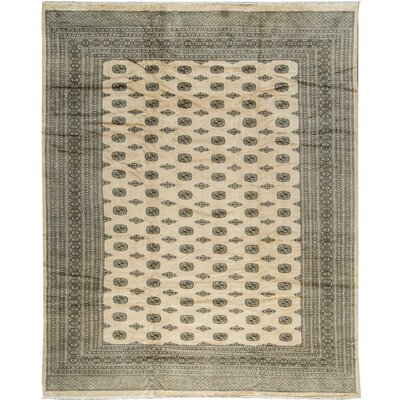Mori Princess Bokha Wool Beige Area Rug